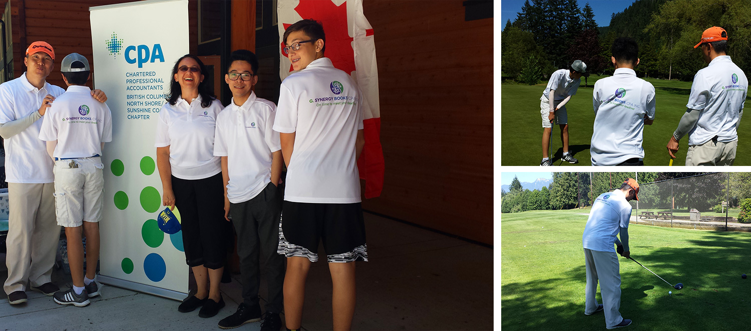 CPA Golf Tournament - Supporting CPA North Shore Community
